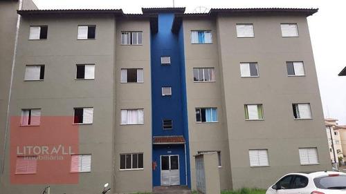 Imagem 1 de 20 de Apartamento Com 2 Dormitórios À Venda, 51 M² Por R$ 70.000 - Umuarama Parque Itanhaém - Itanhaém/sp - Ap0287