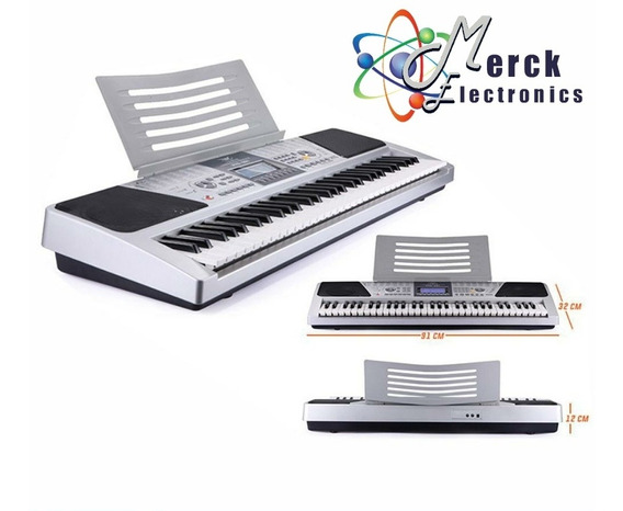 Piano Teclado 61 Teclas 5 Octavas 200 Tonos Angelet Xts-6199