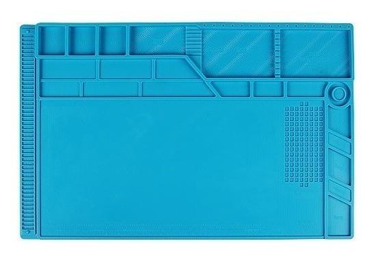 Manta Tapete Antiestática Magnética Azul S-180 550mm X 350mm