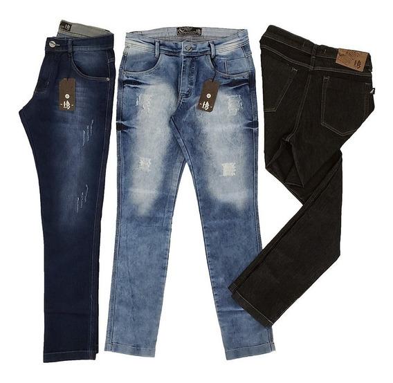 Calça Jeans 3 Peças Aproveite A Alta Qualidade