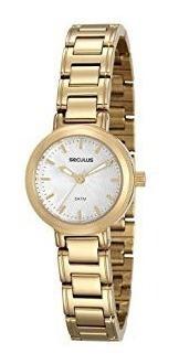 Relógio Seculus Feminino Dourado 28908lpsvds1