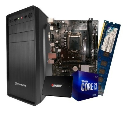 Imagen 1 de 6 de Computadora Core I3 Décima Generación 8 Gb Ram Disco Ssd 240