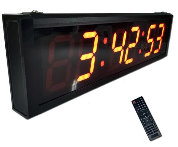 Cronometro Timer Crossfit Tabata 3.6 Led Relogio 48cm