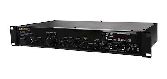 Amplificador Som Unic 90w Ac 800 N Com Bluetooth Sd Usb Mixe