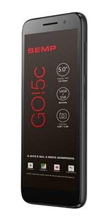Celular Smartphone Semp Go 5c Tela 5 Polegadas, Android 8.1, Camera Traseira 8mp E Frontal 5mp, 16gb