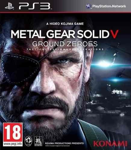 Metal Gear Solid V: Ground Zeros Ps3 - Midia Digital