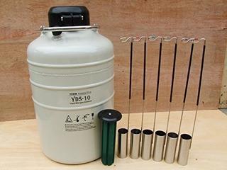 10 L Contenedor Criogenico Tanque De Nitrogeno Ln2 Liquido C