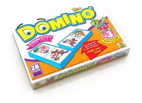 Imagen 1 de 3 de Domino Animales 2 Ploppy 340081