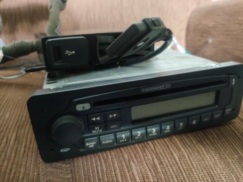 Som Fiat Original Player Completo Usb Cd Bluetooth Rede Can