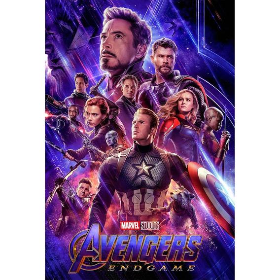 Placa - Decorativa - Grande - Vingadores - Avengers (gv573)