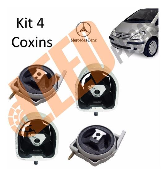 Kit 4 Calco Coxim Motor Câmbio Mercedes Classe A 160 190