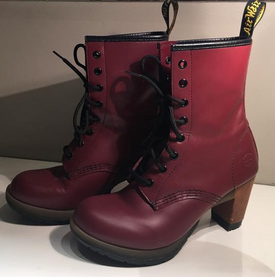 Botas Dr. Martens Darcie Heel Boot!