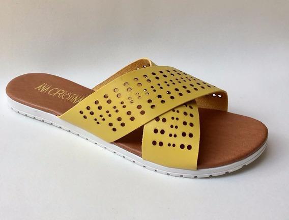 Sandália Chinelo Rasterinha Cruzada Luxo