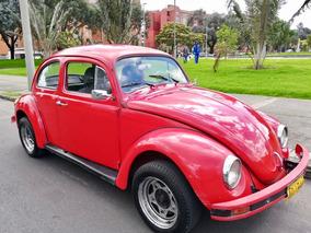 Escarabajo Rojo En Perfecto Estado