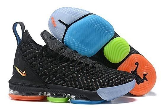 Tenis Nike Lebron 16 Varias Cores 34 Ao 43 Frete Gratis