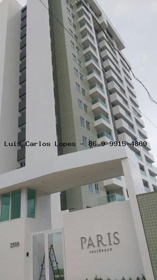 Apartamento Para Venda Em Teresina, Ininga, 3 Dormitórios, 1 Suíte, 2 Banheiros, 2 Vagas - Apto Paris Residence Mobiliado