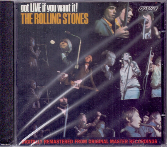Rolling Stones 1966 Got Live If You Want It Cd Satisfaction