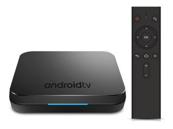 Tv Box Km9 Android 9.0 - 2gb + 16gb Com Comando De Voz