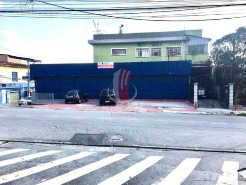 Imagem 1 de 6 de Salão Para Locação No Bairro Vila Curuçá, 240 M - 6230