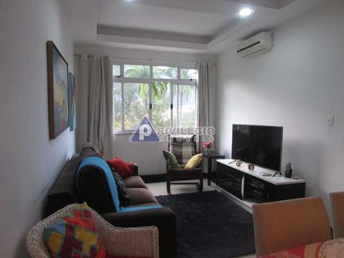 Apartamento À Venda, 2 Quartos, 1 Suíte, 1 Vaga, Leblon - Rio De Janeiro/rj - 22503