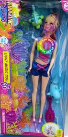 Boneca Mergulho Com Golfinho