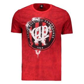 Camiseta Atlético Paranaense Times Vermelha