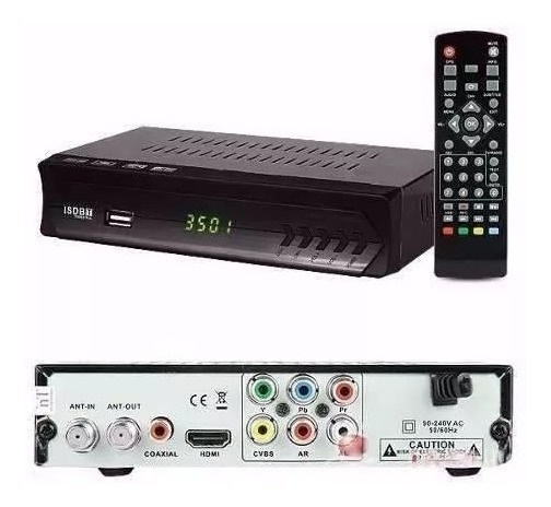 Kit Conversor Digital + Antena Digital Interna