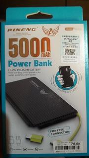 Carregador Portátil/bank Pineng 5000mah