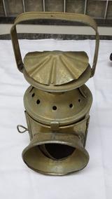 Lanterna Antiga Sinalizadora De Trem