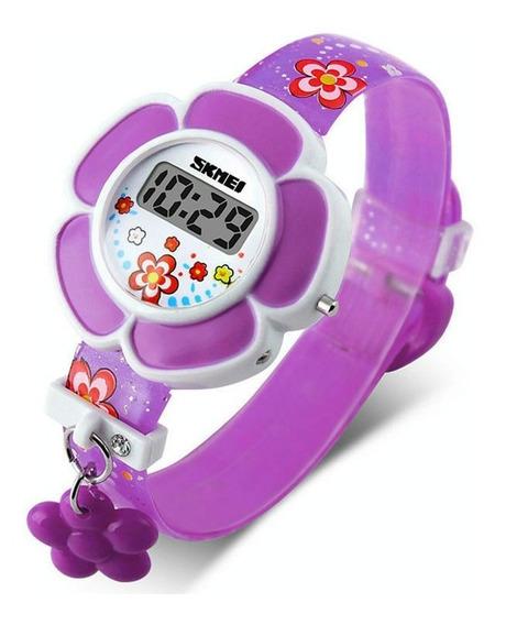 Relógio De Pulso Led Digital Menina Criança Infantil 178