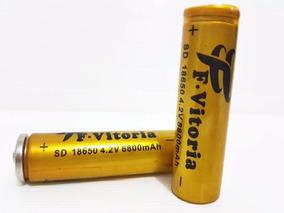 Bateria Recarregável 18650 8800mah 4.2v Lanterna Tática
