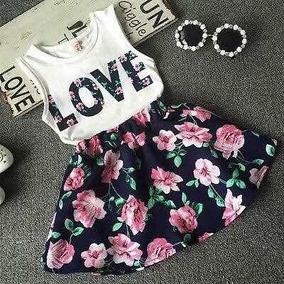 Conjunto Para Niña Love