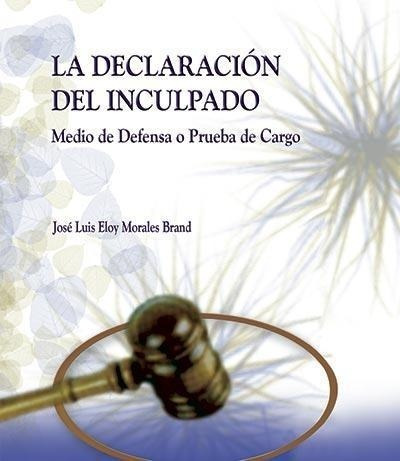 La Declaracion Del Inculpado Como Medio De Defensa O Prueba