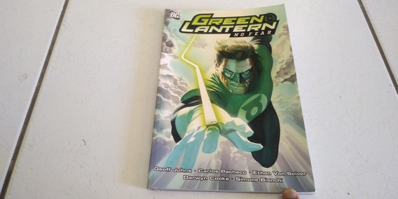 Hq Lanterne Verde Sem Medo Green Lantern No Fear (importada)