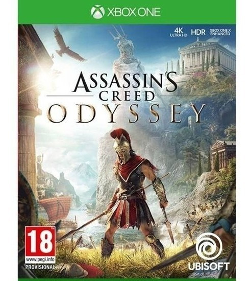 Assassins Creed Odyssey Mídia Física Lacrado - Xbox One