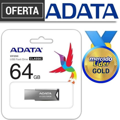 Flash Memory Adata 64gb 100% Originales Usb 2.0 Inc Iva**