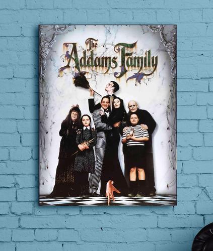 Quadro A Familia Adams Impresso Em Tela De Pintura
