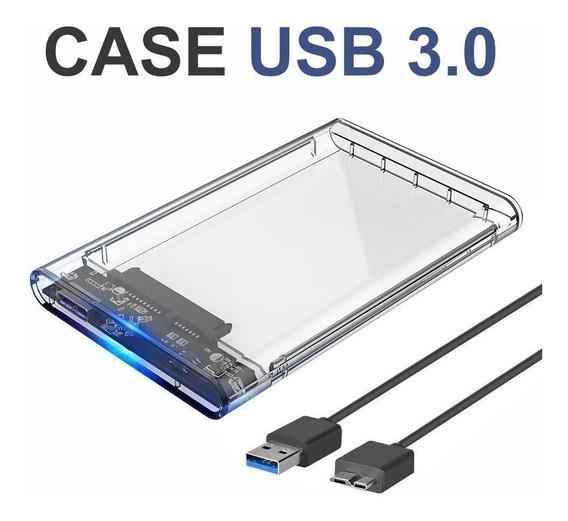 Case Slim Hd 2,5 Usb 3.0 Sata Hdd Ssd Gaveta Note Barato