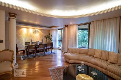 Apartamento No 2º Andar Com 4 Dormitórios E 4 Garagens - Id: 892931265 - 231265
