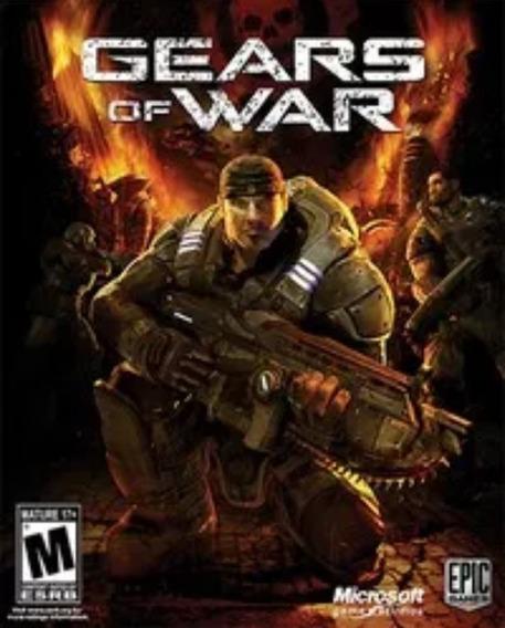 Gears Of War 1 Xbox 360 Midia Digital