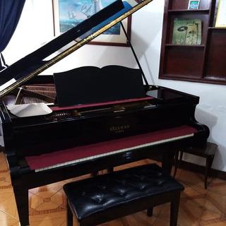 Piano 1/2 Cola Paris Francia Gaveau, 173cm, Original.