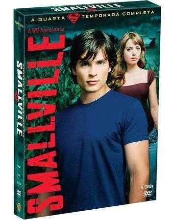 Box Smallville 4ª Temporada Completa 6 Dvds Lacrado Original