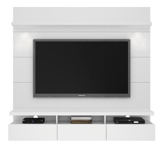 Home Para Tv Horizon Com Led Branco Gloss 181cm