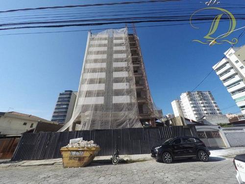 Apartamento Novo De 01 Quarto À Venda Na Vila Guilhermina Em Praia Grande!!! - Ap4096