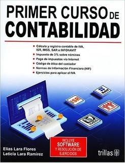 Primer Curso De Contabilidad Elías Lara Edición Actu Trillas