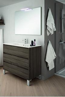 Mueble Para Baño Si80br 80 Cm Con Patas