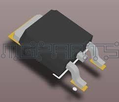 Aod4189 D4189 P-channel  Mosfet Transistor -40a -40v Ot1