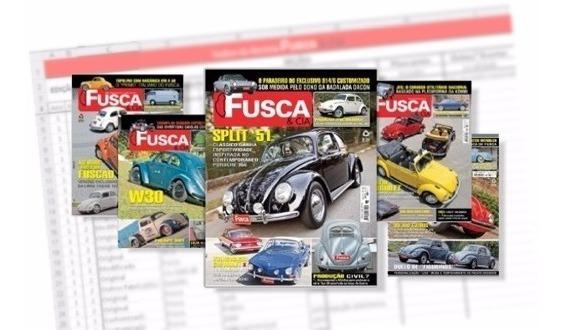 Lote Coleção Revistas Fusca E Cia Ed 01 A 150 + Ed. Zero