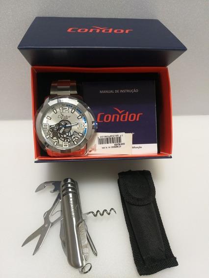 Dia Dos Pais Relógio Condor Co2415bj/k3k Original E Garantia