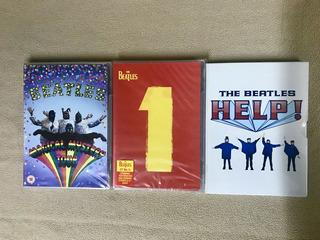The Beatles, Lote 3 Dvds. Nuevos Y Sellados.